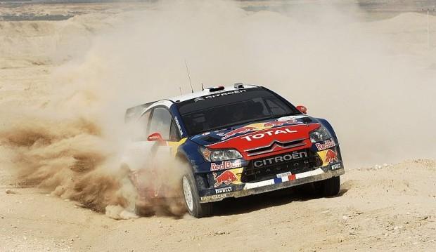 Rallye Jordanien: Loeb siegt, Räikkönen punktet: Loeb siegt nach taktischen Spielen