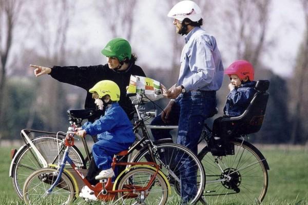 Ratgeber: Kinder mit dem Rad transportieren