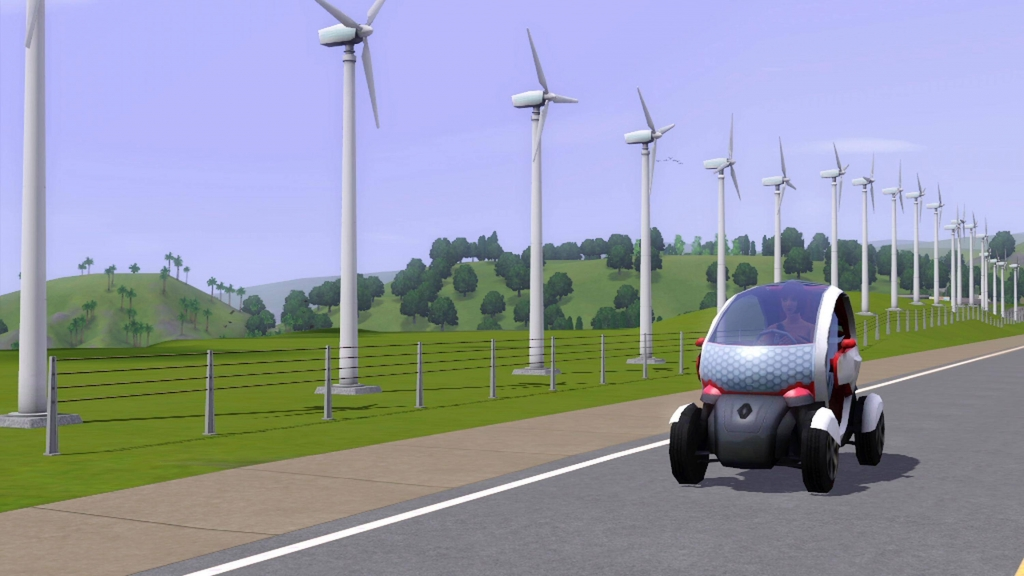 Renault Twizy Z.E. fährt in