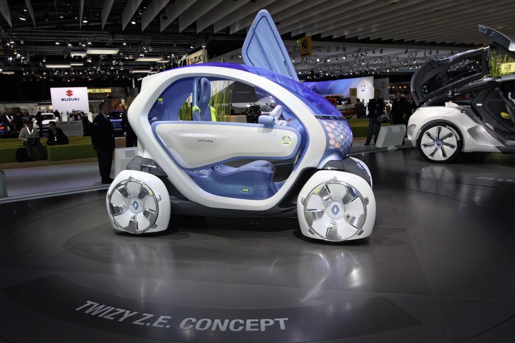Renault Twizy ZE Concept.