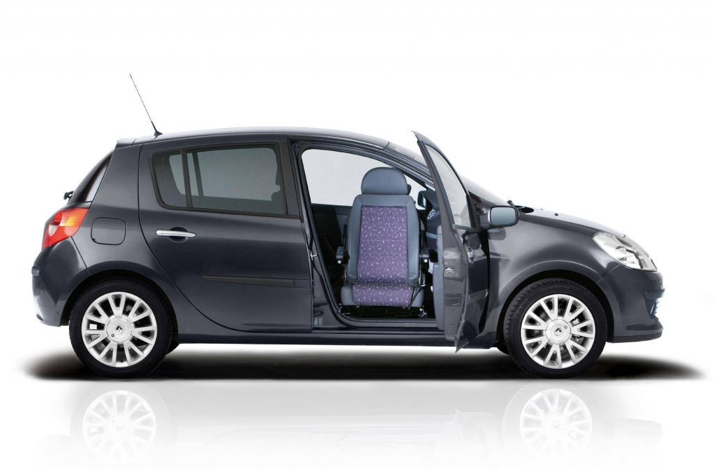Renault bietet schwenkbaren Beifahrersitz für den Clio