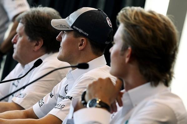Rosberg laut Haug durch Schumacher angespornt: Stärke ist keine Überraschung