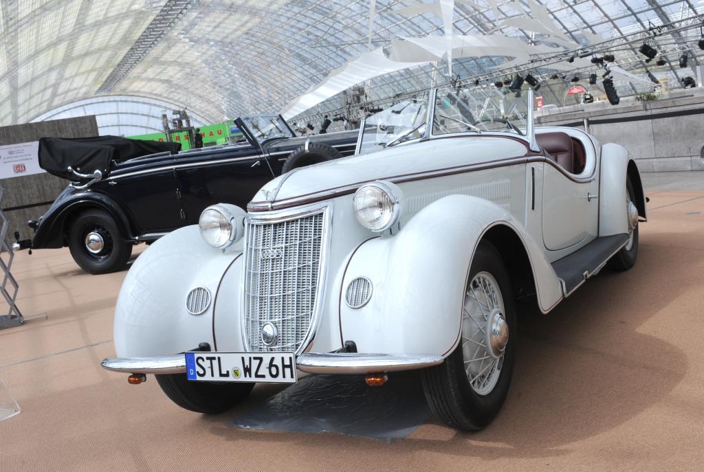 Schmuckstücke wie dieser Vertreter der exklusiven Gilde auf der AMI in Leipzig können sich jetzt jeden Sonntag auf der Audi Piazza in Ingolstadt zeigen.