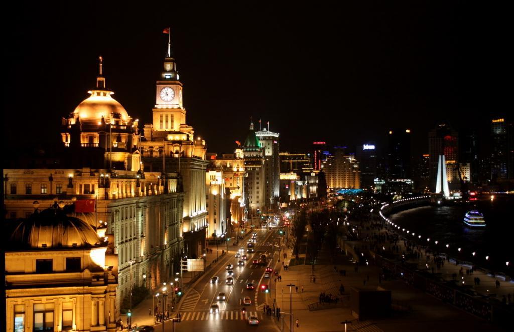Shanghai bereitet sich auf die Expo 2010 vor.