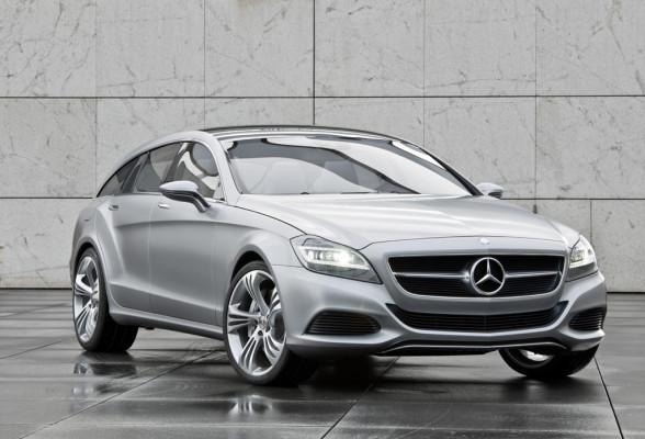 Shooting-Break-Weltpremiere in Peking: Mercedes denkt das Coupé einfach weiter