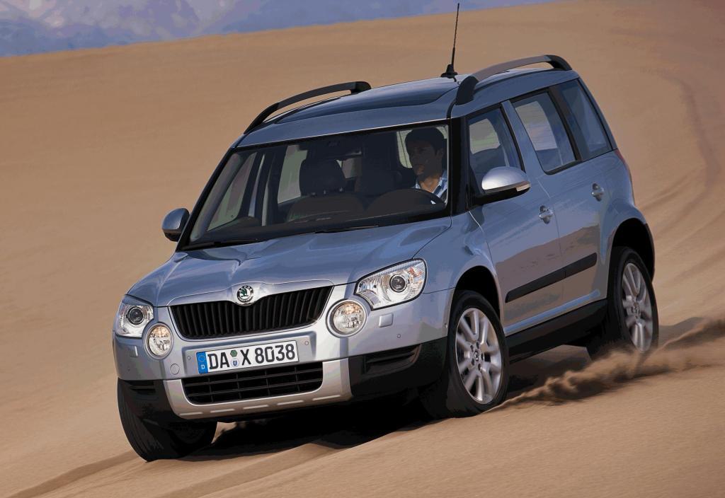 Skoda Yeti und Superb 4x4 siegen bei ''Allrad Auto 2010''