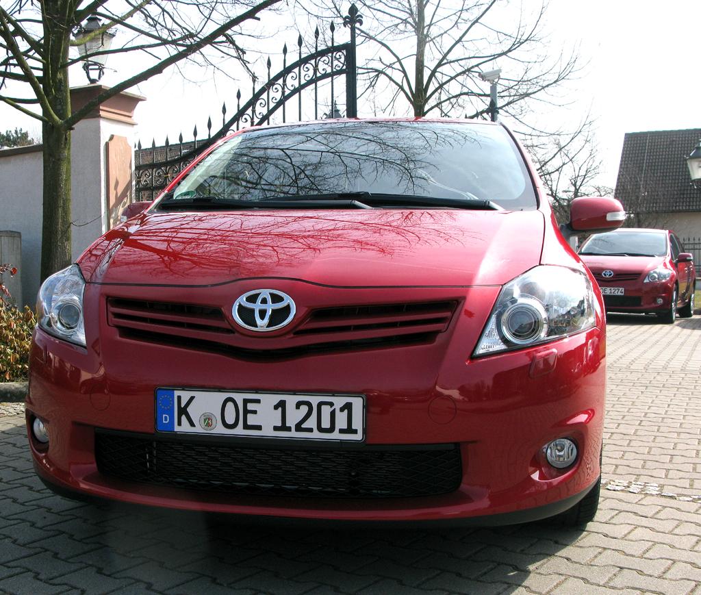 Toyota Auris: Frontansicht.