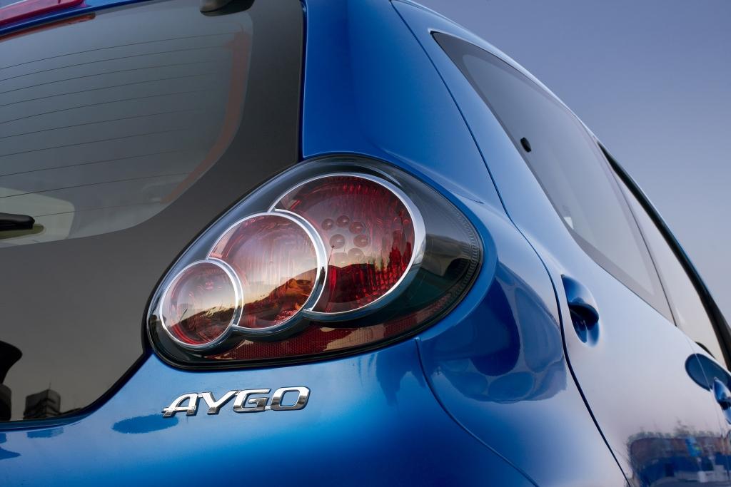 Toyota Aygo Cool Red: Auf Blau folgt Rot