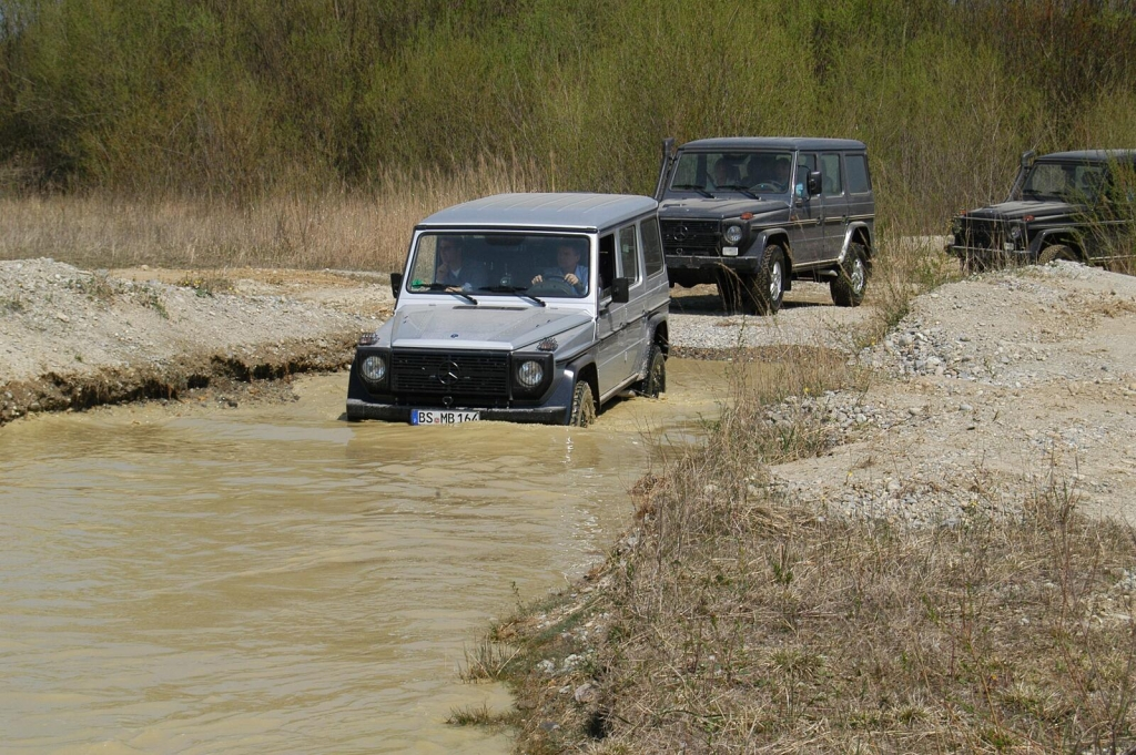 Ur-G-Stein: Mercedes G Professional