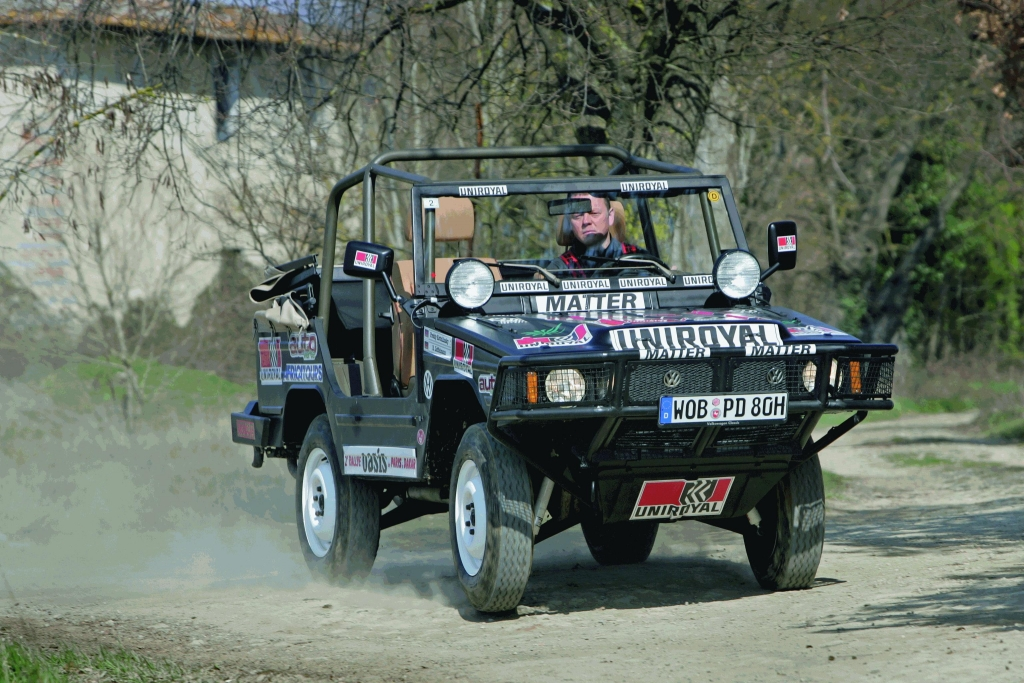 VW Iltis: Siegerauto der Rallye Paris-Dakar 1980.