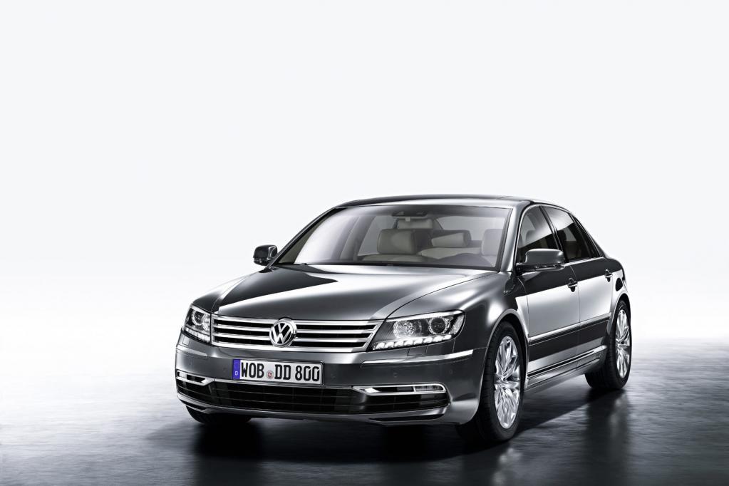 VW Phaeton: Facelift für das Luxusproblemkind