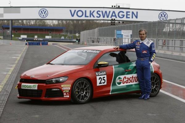 VW Scirocco R-Cup: Motorsport-Legenden starten 2010
