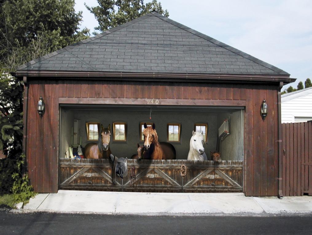 Viel Platz für viel Pferd.