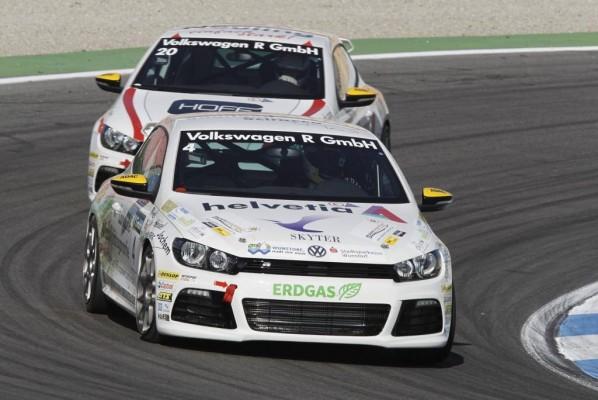 Volkswagen Scirocco R-Cup: Tolle Premiere in Hockenheim