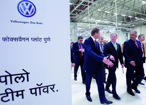 Volkswagen Werk in Pune wichtiger Bestandteil der Wachstumsstrategie in Indien