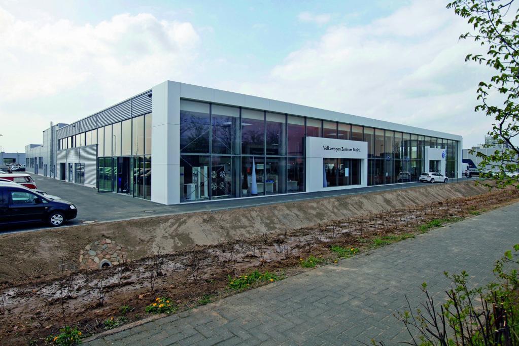 Volkswagen-Zentrum Mainz.