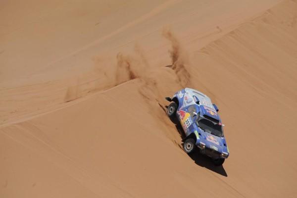 Volkswagen startet 2011 bei der Rallye Dakar