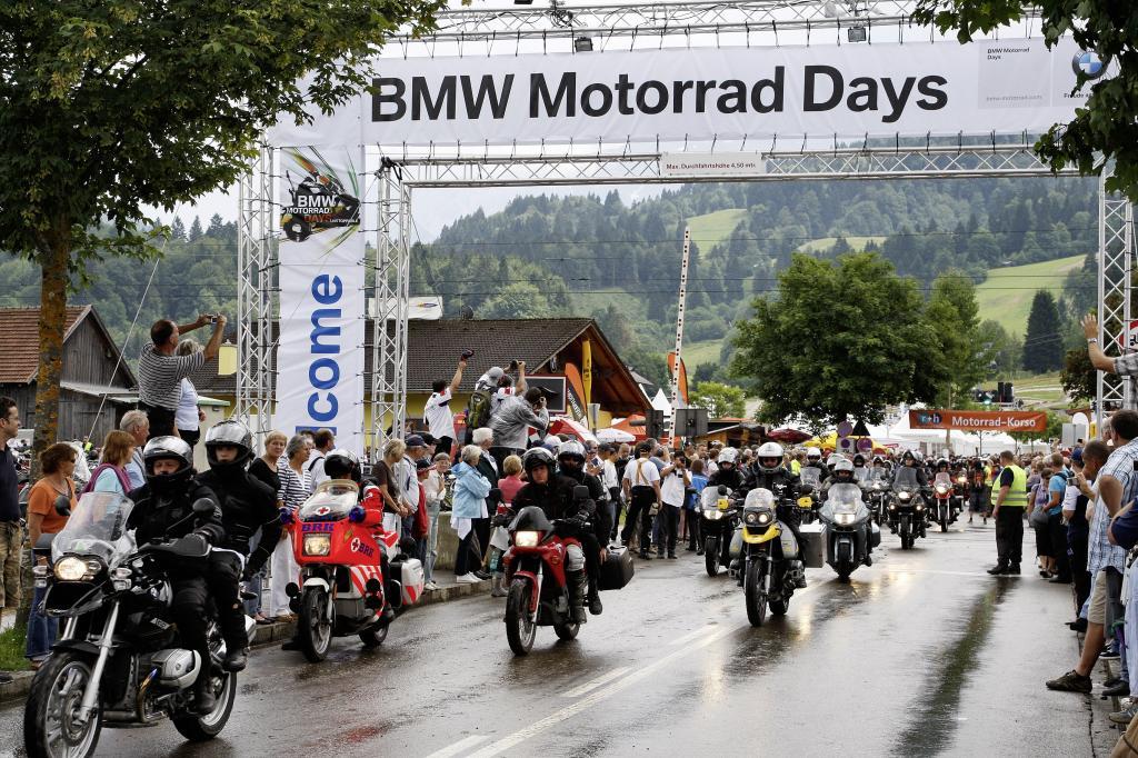 """Von 2. bis 4. Juli 2010 finden zum zehnten Mal die """"BMW Motorrad Days"""" statt."""