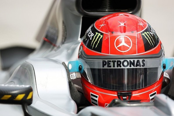 Wieder neue Erkenntnisse für Schumacher: Regenreifen verhalten sich anders als früher