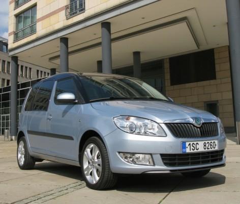 Škoda-Minivan noch effizienter: Das große Roomster-Plus bleibt das variable Sitzsystem