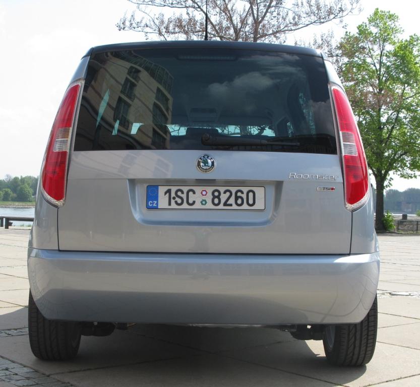 Škoda Roomster: Heckansicht.