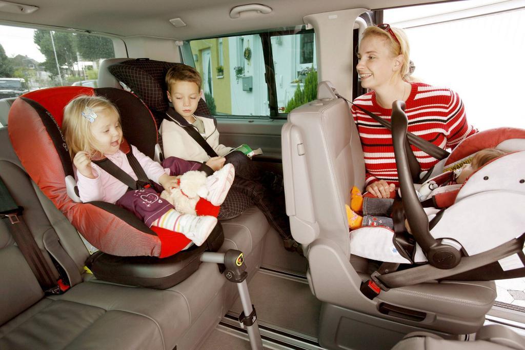 Auch bei Eile und kurzen Strecken: Kindersitz ist ein Muss!