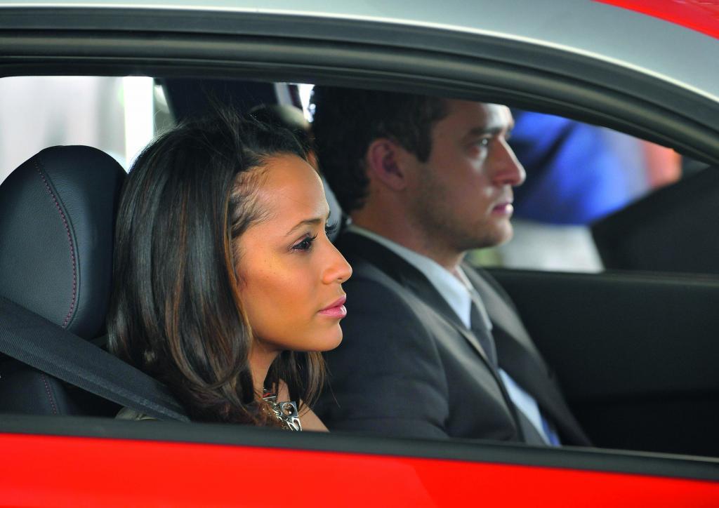 Audi A1-Episodenfilm: Dania Ramirez und Justin Timberlake.