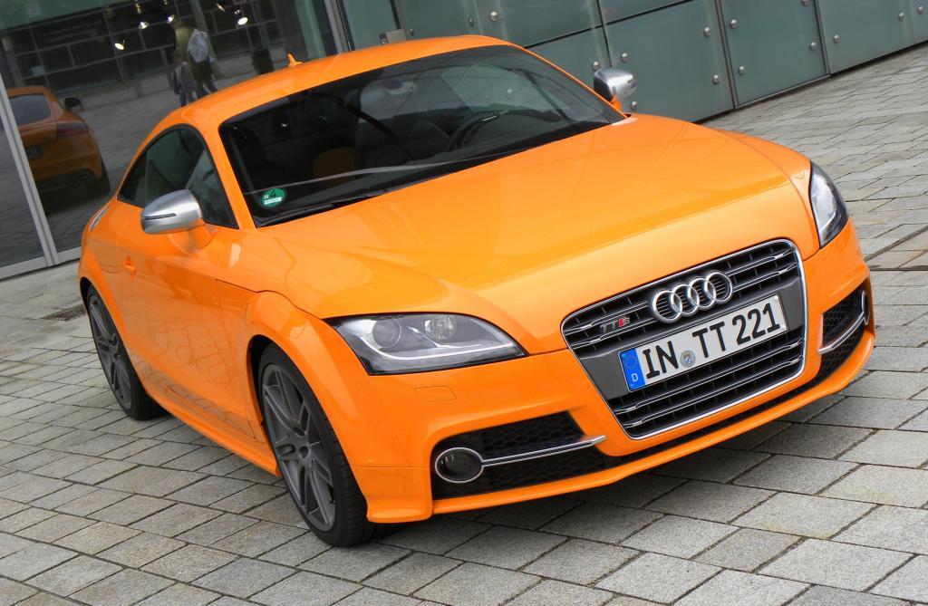 Audi TT, Jahrgang 2010.