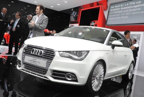 Audi baut seine neue e-tron-Modellfamilie aus