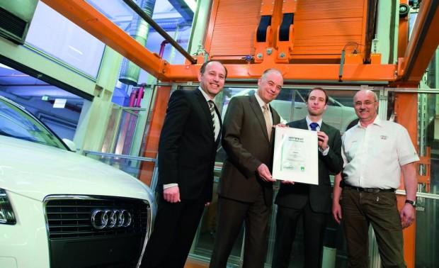 Audi ist Vorreiter im Energiesparen