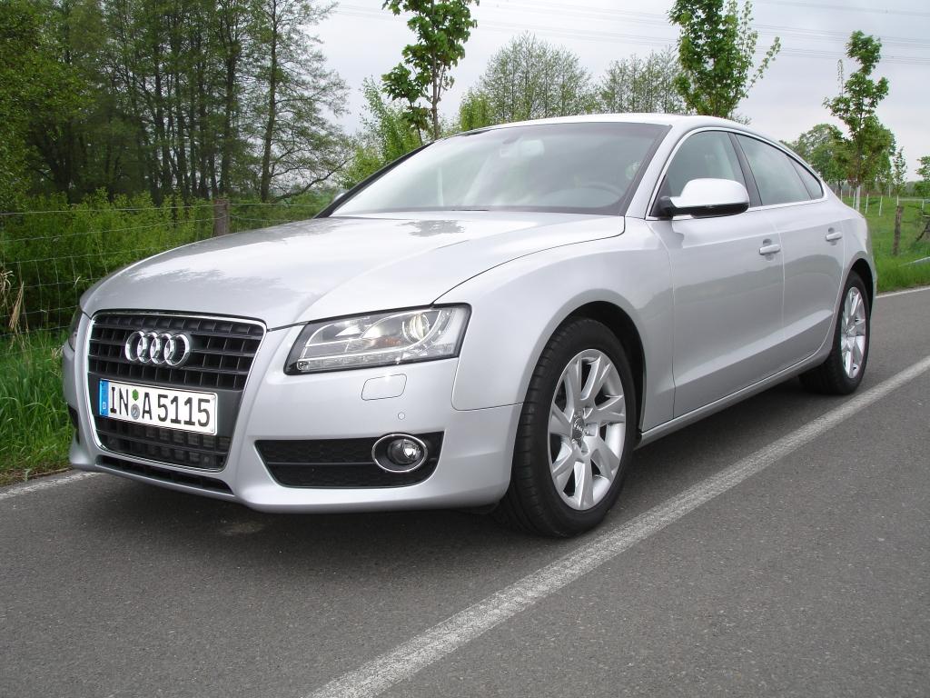 Audis A5 Sportback ist nicht nur eine sehr edle Erscheinung, sondern auch noch von hohem Nutzwert.