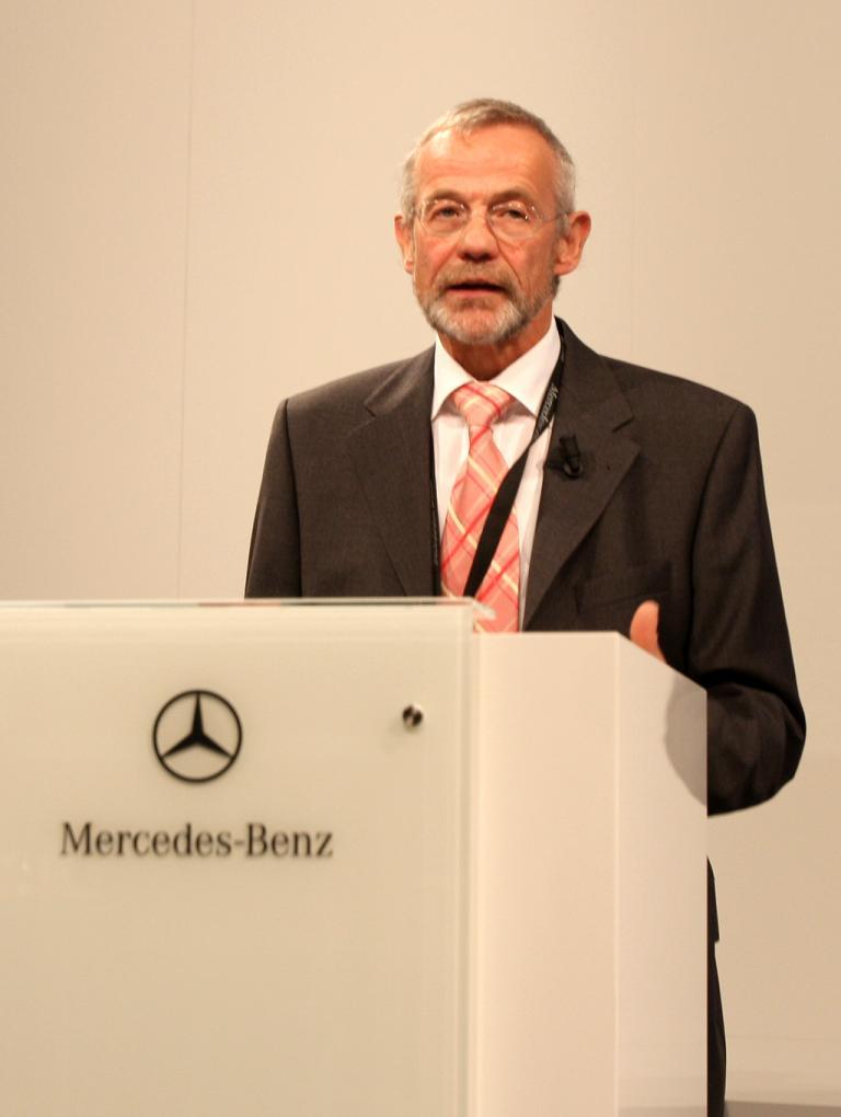 Automatisiertes Fahren: Ulrich Mellinghof leitet bei Mercedes die Bereiche Sicherheit und Erprobung.