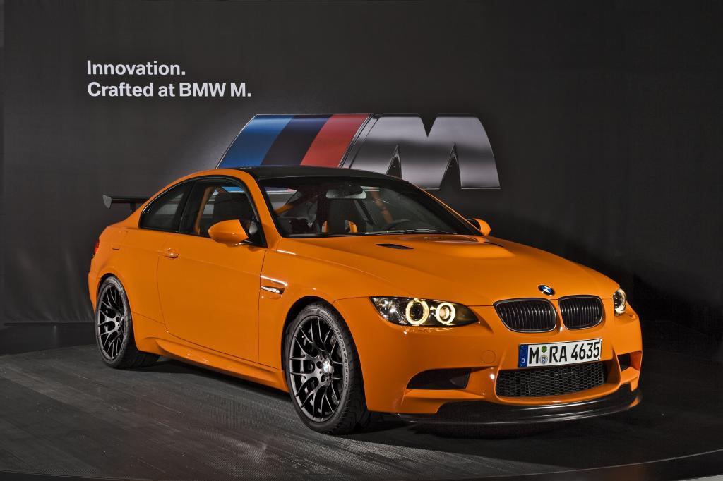 BMW M3 GTS.