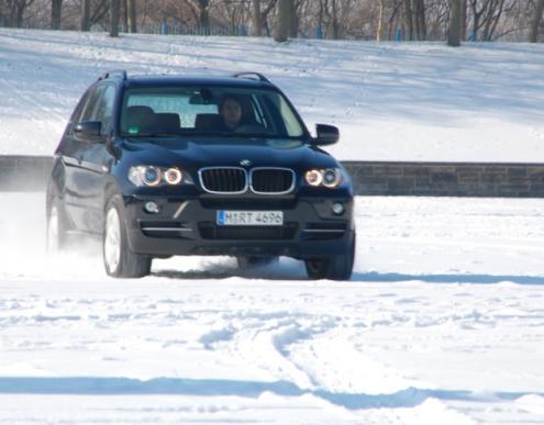 BMW X5: Ein letzter Ritt im Schnee