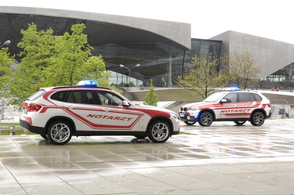 BMW stellt Notarztfahrzeuge für den Kirchentag zur Verfügung