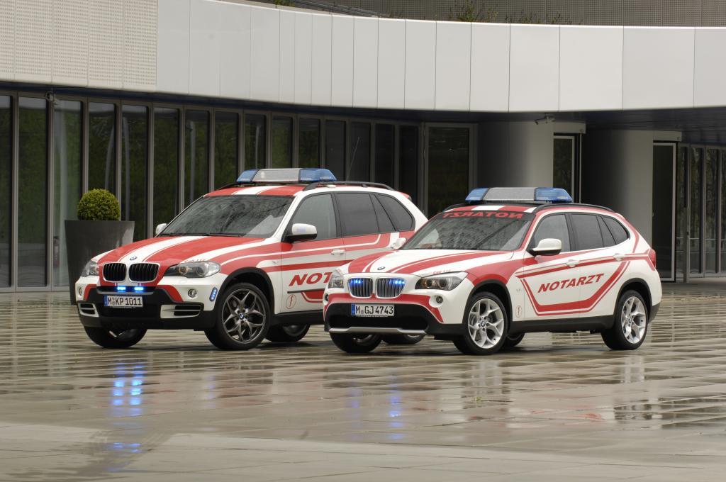 BMW stellt für den Ökumenischen Kirchentag in München Notarztfahrzeuge zur Verfügung.
