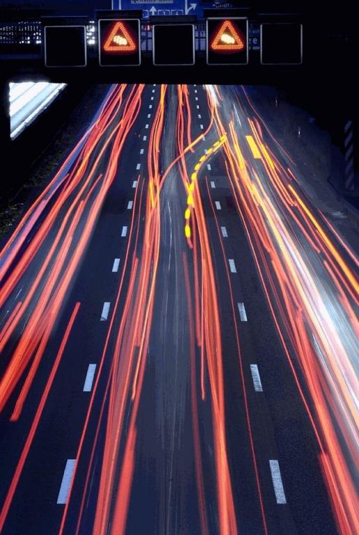 Bessere Informationen auf der Autobahn