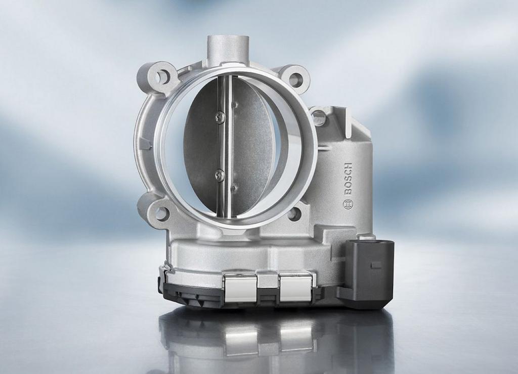 Bosch hat 50 Millionen elektrische Drosselvorrichtungen gefertigt