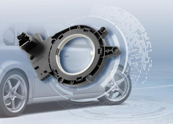 Bosch mit neuem Lenkwinkelsensor für Kompakt- und Kleinwagen