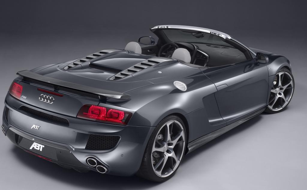 Cabrio der Sonderklasse: Abt Audi R8 Spyder.
