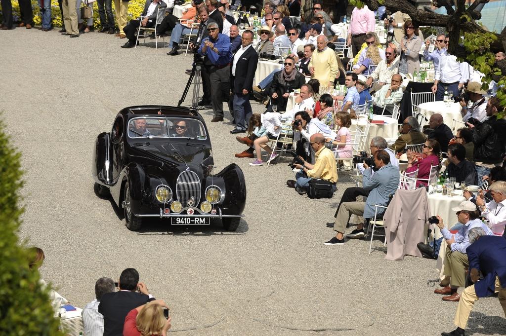 Den wichtigsten Preis abgeräumt hat in diesem Jahr der Amerikaner Oscar Davis. Sein Talbot-Lago T 150 von 1938 hat die Jury überzeugt.