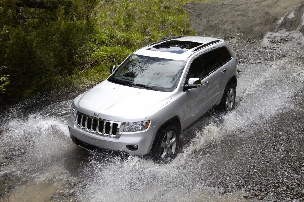 Der Jeep Grand Cherokee 2011.