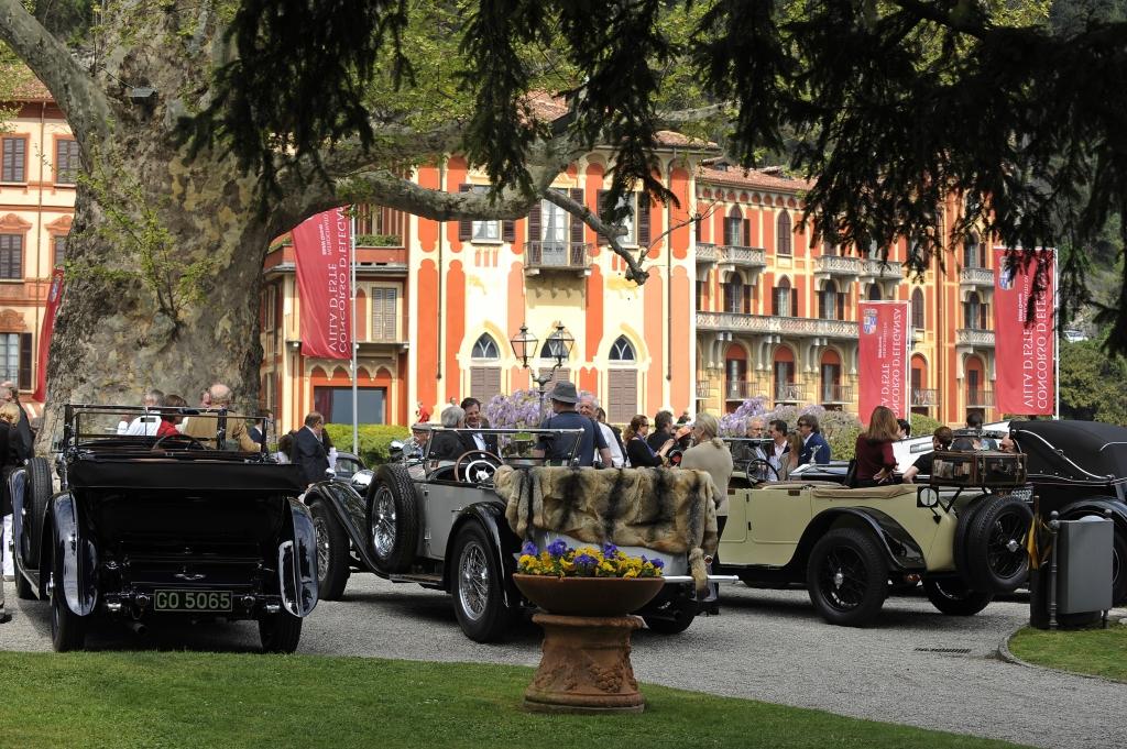 Der Schönheitswettbewerb der Edel-Autos: Der Concorso 2010