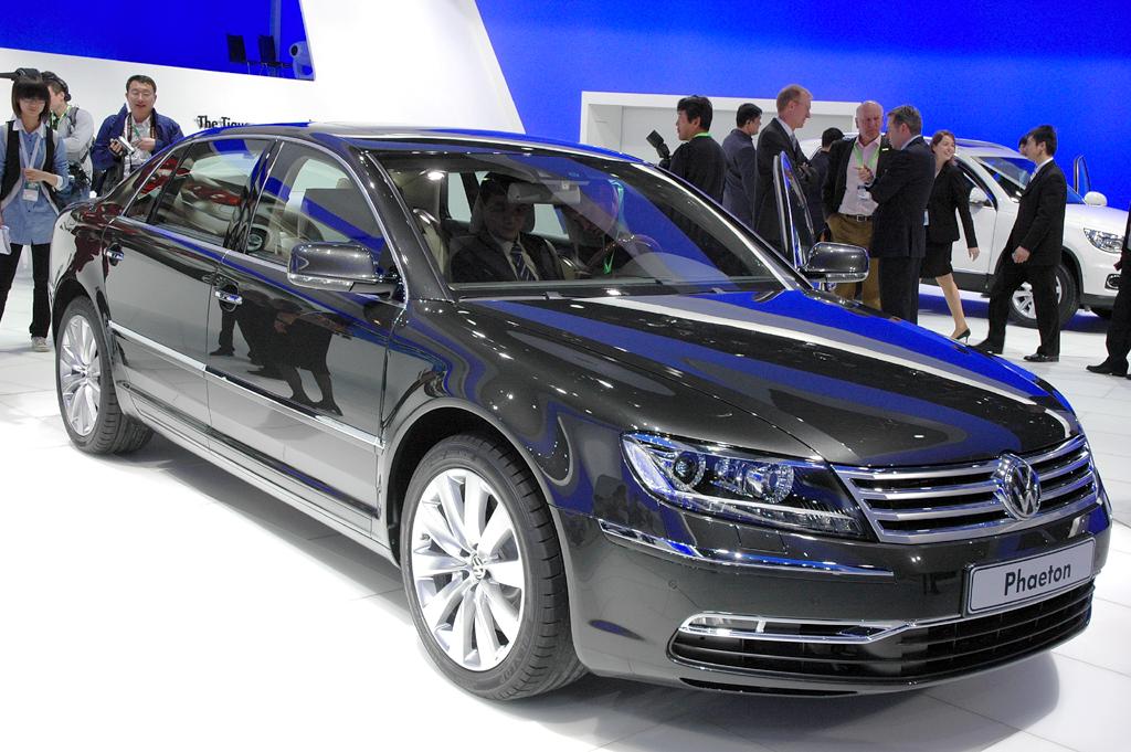 Der VW Phaeton ist das Flaggschiff der Volkswagen-Kernmarke VW.