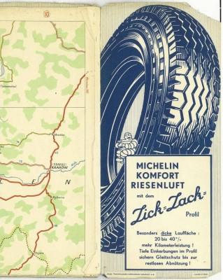 Die Brüder Michelin entwarfen 1910 erste detaillierte Straßenkarten