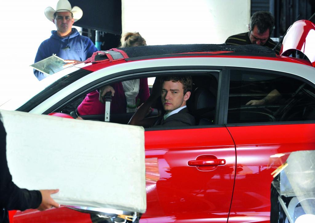 Dreh zum A 1-Episodenfilm mit Justin Timberlake.