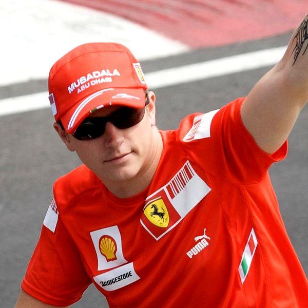 Formel 1-Stars und ihre Autos. Heute: Kimi Räikkönen.