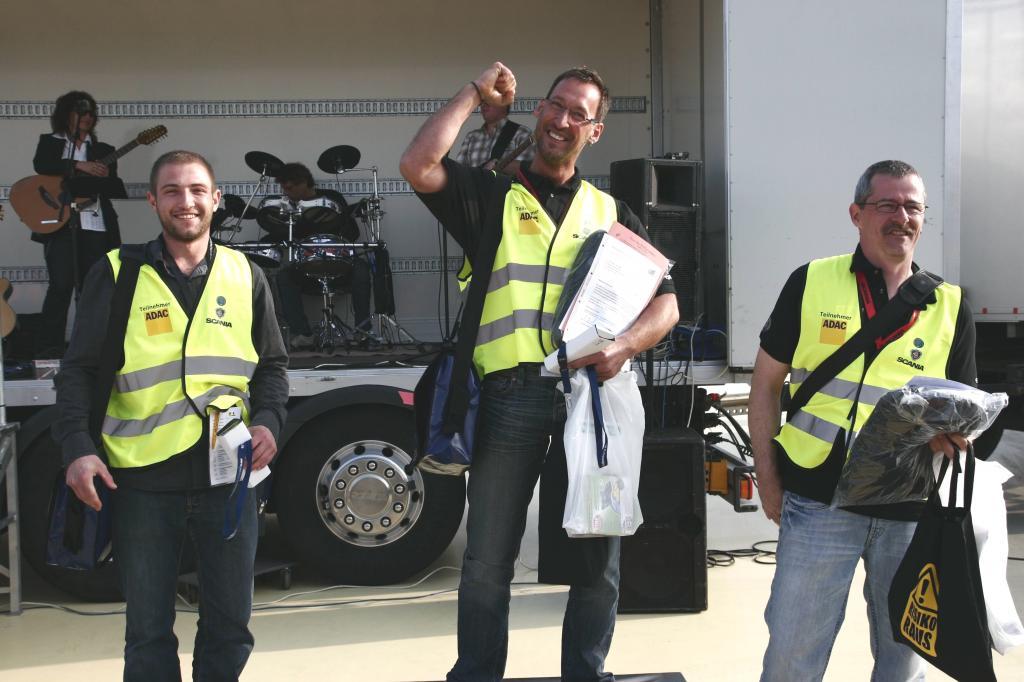 Halbzeit: Scania-ADAC-Lkw-Fahrerwettbewerb 2010