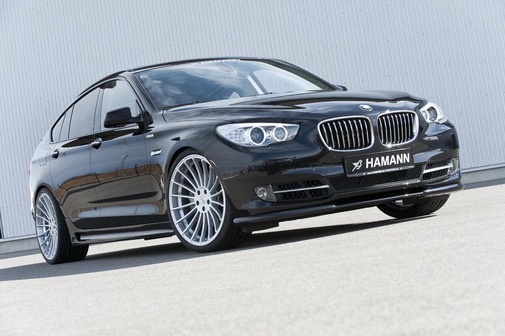 Hamann veredelt den BMW 5er Gran Turismo