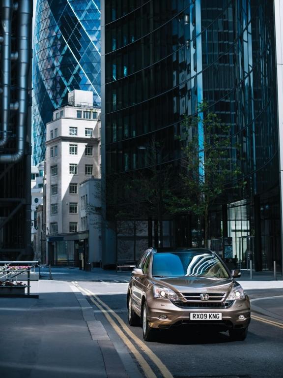 Honda CR-V: Allrad-Gleiter ohne Offroad-Ambitionen